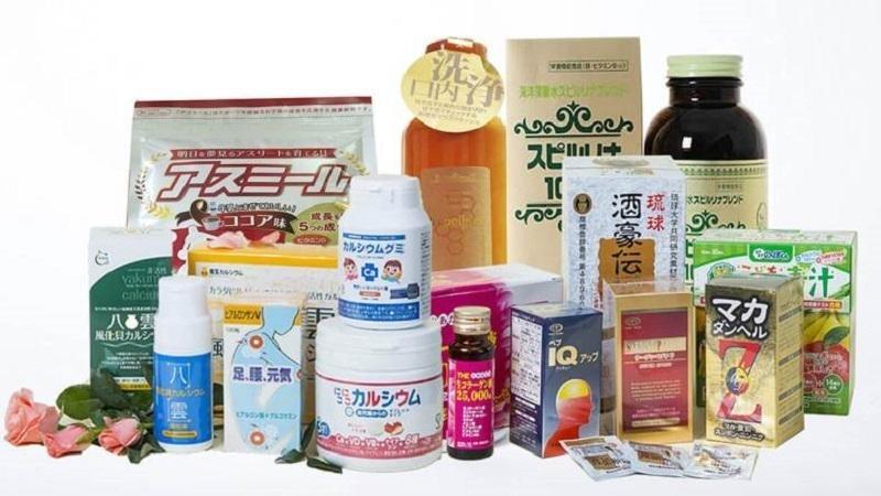 Thực phẩm chức năng nhập khẩu