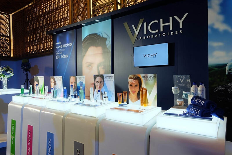 Quảng cáo mỹ phẩm trong sự kiện, hội thảo