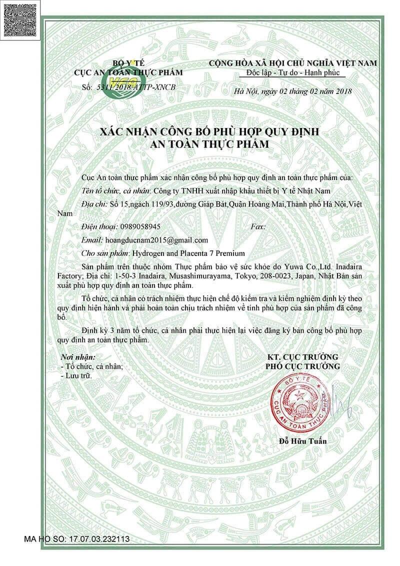 Hồ sơ xin giấy do dịch vụ công bố thực phẩm trong nước Luật Thiên Di thực hiện