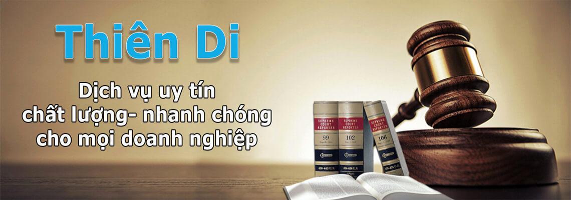 Luật Thiên Di đơn vị hàng đầu chuyên nhận giải quyết các thủ tục công bố khó
